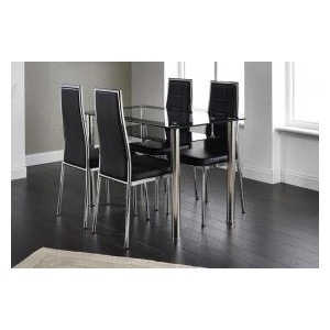 Andora Dining Chair Chrome...