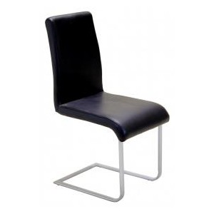 Aspen Chair Black PVC &...