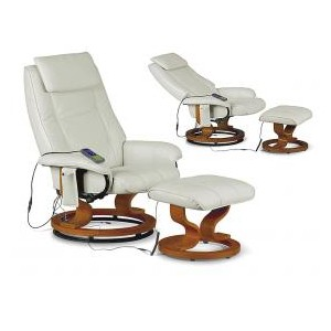 Aston Reclining Massager Cream