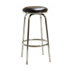 Bar Stool Chrome Swivel No...