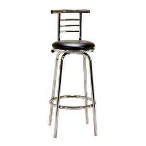 Bar Stool Chrome Swivel...