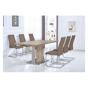 Belize PU Chairs Chrome &...