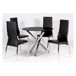 Calder Dining Table Chrome...