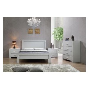 California Double Bed Grey