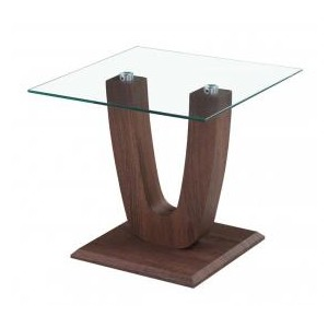 Capri Lamp Table Clear...
