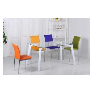 Carina Glass Dining Table...