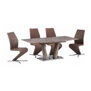 Geneva PU Chairs Chrome &...
