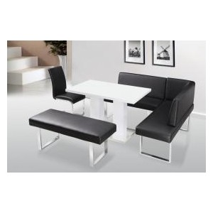 Liberty PU Chair Black &...