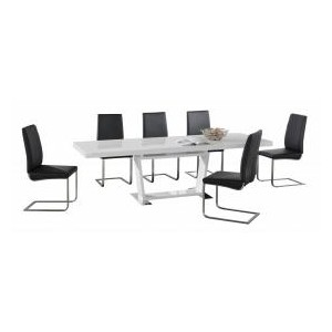 Maxwell PU Chairs Stainless...