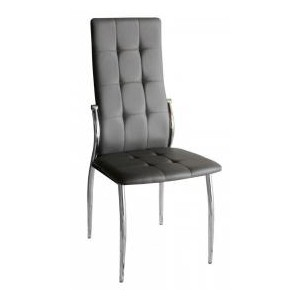Oyster PU Chairs Grey &...