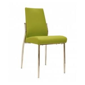 Renzo PU Chairs Chrome &...