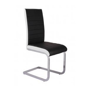 Ryker PU Chairs Chrome &...