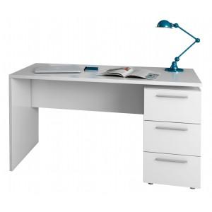 Arctic Desk 3 Drawer White...