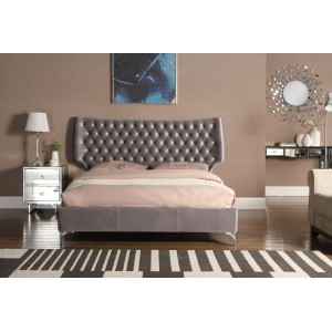 Ashbourne Velvet Double Bed...