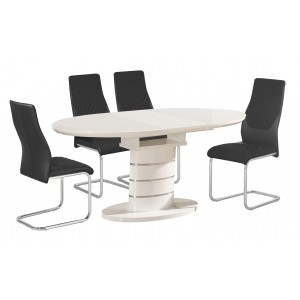 Bearwood PU Chairs Chrome &...