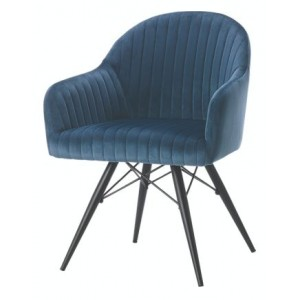 Corfu Velvet Dining Chair...