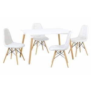 Emery Dining Table White...