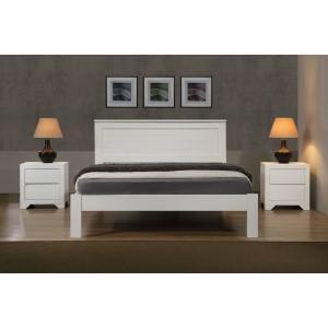 Etna 4 Foot Bed White