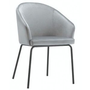 Hamburg Velvet Dining Chair...