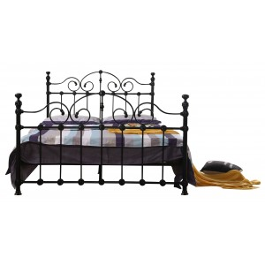 Inglewood King Size Bed Black