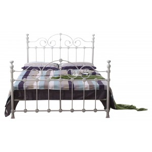Inglewood King Size Bed White