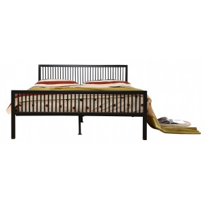 Karachi King Size Bed Black