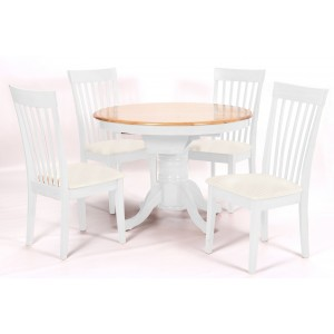 Leicester White Dining Set...
