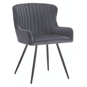 Medway Velvet Dining Chair...