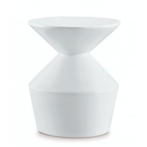 Orbit Lamp Table White