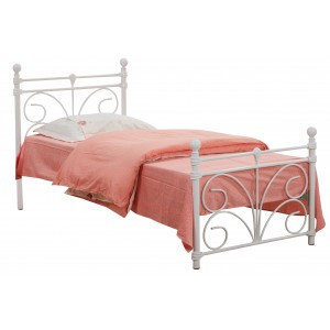 Separo Double Bed White