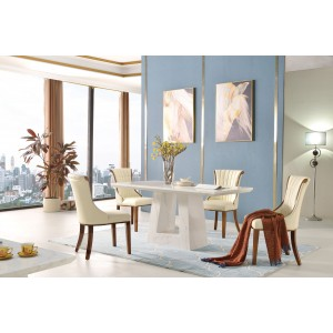 Venice PU Dining Chair with...