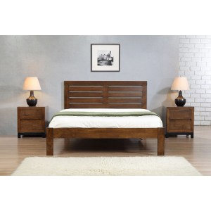 Vulcan King Size Bed Rustic...