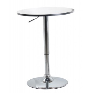 Zen Bar Table White Top...