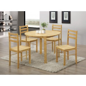 York Round Dining Set with...