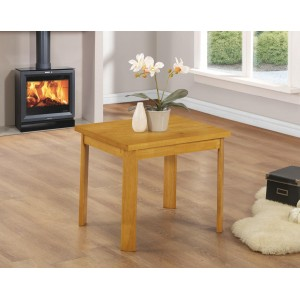 York Lamp Table Natural Oak