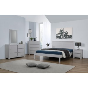 Wilmot 4 Foot Bed Grey