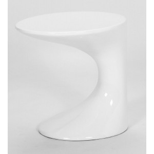 Wilcox Lamp Table White