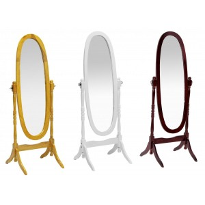 Vennessa Cheval Mirror White
