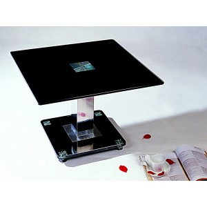 Trinity Lamp Table Chrome &...