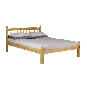 Torino Pine Bed Double