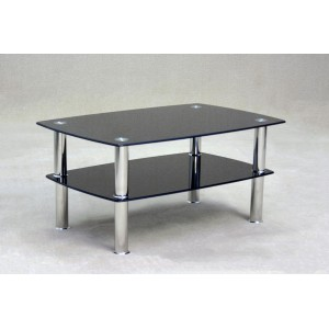 Togo Black Coffee Table