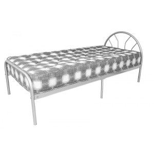 Sydney Single Bed Silver