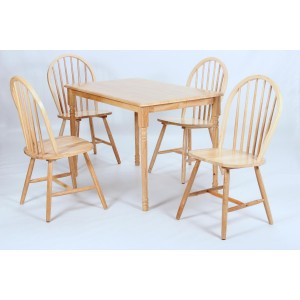 Sutton Dining Set Natural