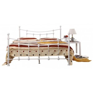 Surrey Single Bed White