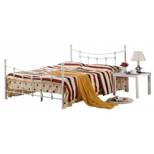 Surrey King Size Bed White