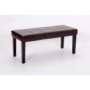 Stella Bench PU Brown