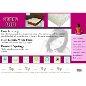 Spring Flexi Mattress Double