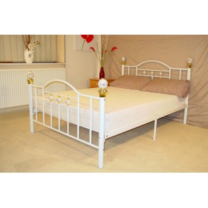 Skyline Double Bed Black