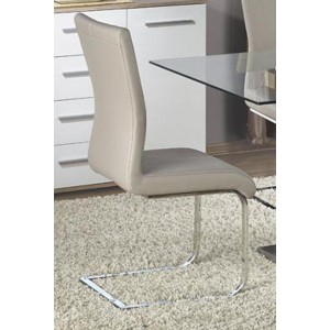 Simone PU Chairs Chrome &...