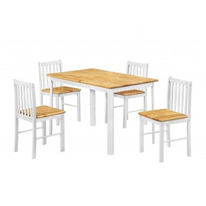 Sheldon Dining Set with 4...